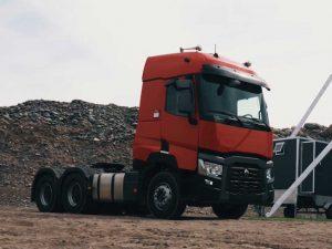 Tractocamión Renault Truck C520 6×4 con Suspensión de Resortes