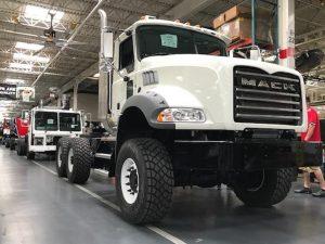 Camión Mack Granite PJL 18 LBS Allison